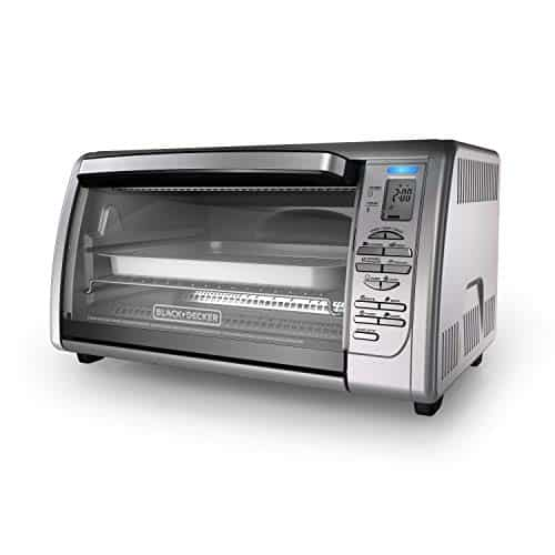 BLACK &DECKER Countertop Convection Toaster Oven