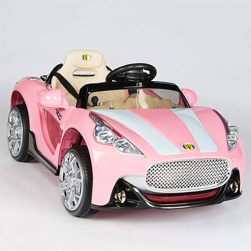 Maserati Style 12V Kids Ride On Car Electric Powered Wheels Remote Control Pink