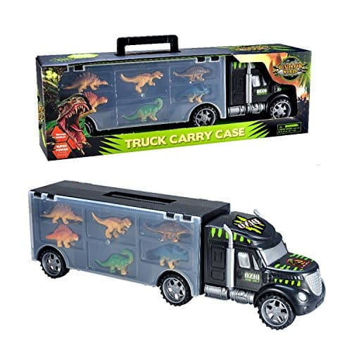 MegaToyBrand Dinosaurs Transport Car Carrier Truck