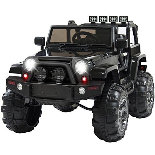 Best Choice Products 12V Ride On Car Truck w/ Remote Control, 3 Speeds, Spring Suspension, LED Light