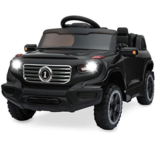 Best Choice Products 6V Kids Ride-On Car Truck w/ Parent Control, 3 Speeds, LED Headlights, MP3 Player, Horn