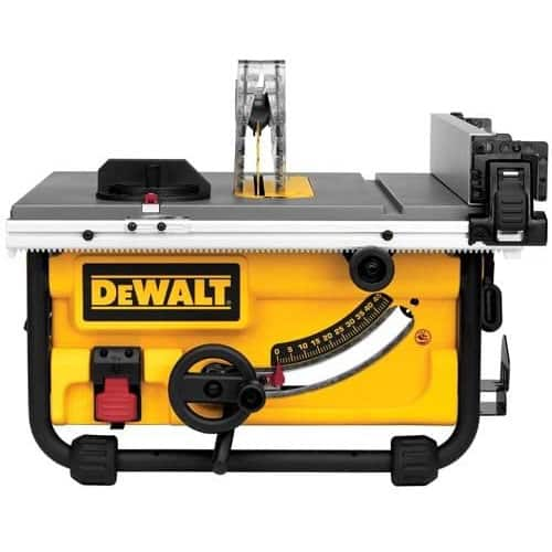 The Dewalt DWE7480 10-inch Compact Table Saw
