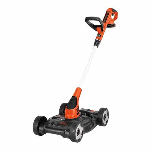 Black & Decker 3-in-1 Lawnmower, String Trimmer and Edger