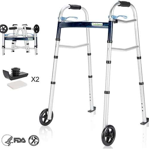 OasisSpace Compact Folding Walker