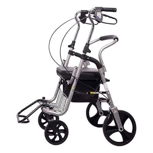 Upright Posture Rolling Walker Drive Medical Wheel Walking Aid