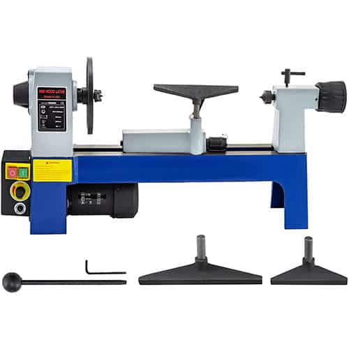 Mophorn 8 x 12 inch Variable Speed Benchtop Mini Wood Lathe