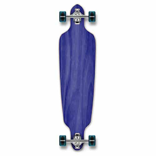 Yocaher Blank and Checker Complete Drop Through Skateboards Longboard
