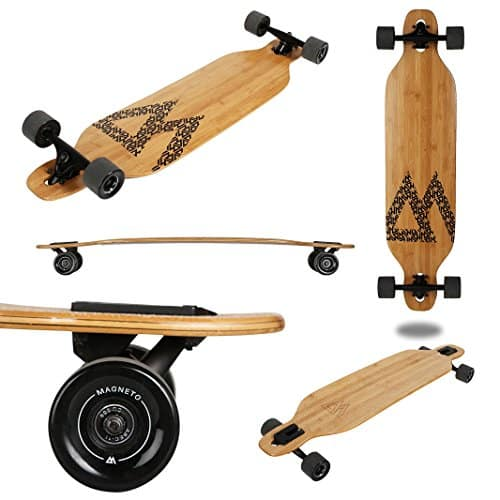 Magneto Longboards Bamboo Longboards for Cruising