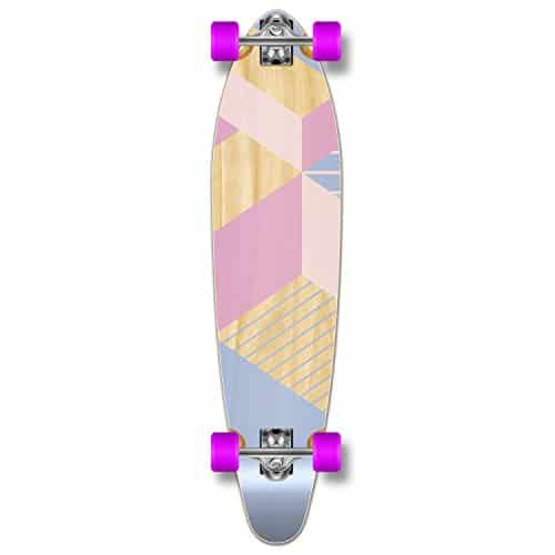 Yocaher Geometric Series Longboard Complete Cruiser