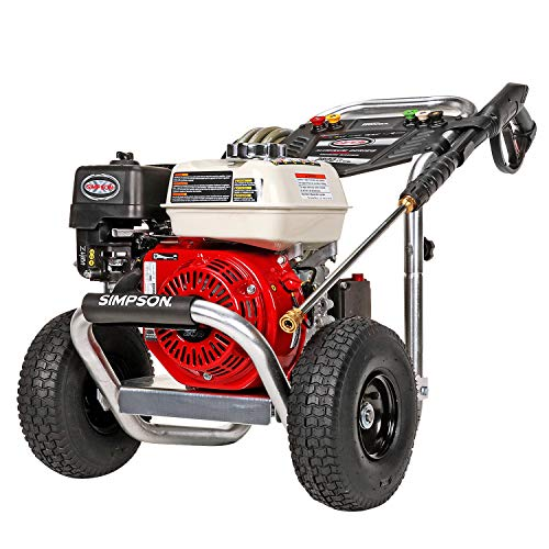 SIMPSON Cleaning ALH3425 Aluminum Gas Pressure Washer Powered