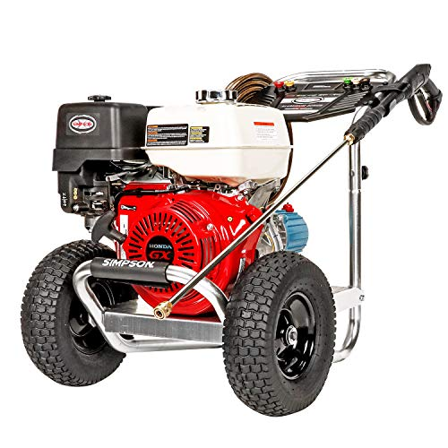 SIMPSON Cleaning ALH4240 Aluminum Gas Pressure Washer Powered