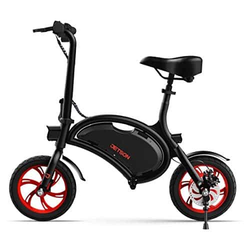 Jetson Bolt Folding E-Bike Full Throttle Electric Bicycle with LCD Display