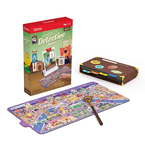 Osmo's Detective Agency - Solve Global Mysteries - STEM Toy