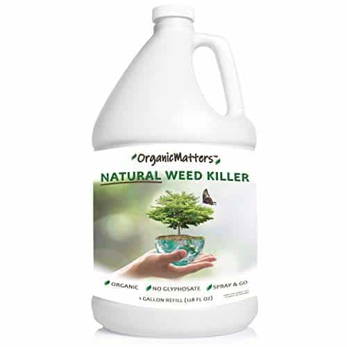 OrganicMatters Natural Weed Killer Spray