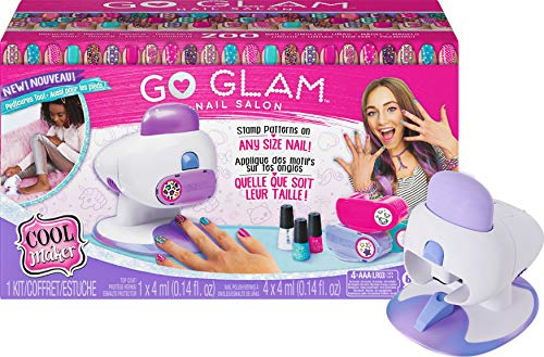 Cool Maker, GO Glam Nail Stamper Deluxe Salon with Dryer