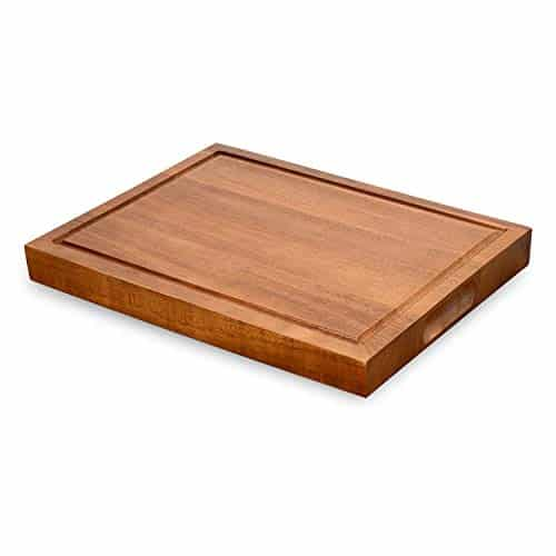 Acacia Wood Thick Large Reversible Wooden Kitchen Chopping Boards